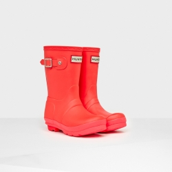 20140820100639ORG_BCO_AW14_JFT6000RCS_product original kids' contrast sole wellington boots bright coral