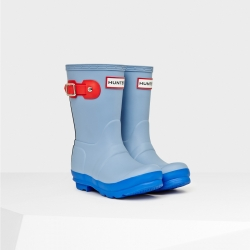 20140820100700ORG_BLL_AW14_JFT6000RCS_product original kids' contrast sole wellington boots blue lily