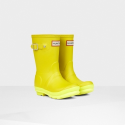 20140820100712ORG_YCT_AW14_JFT6000RCS_productoriginal kids' contrast sole wellington boots Yellow chartreuse