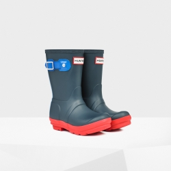 20140820100713CRY_NVY_SS14_JFT6000RCS_productoriginal kids' contrast sole wellington boots navy
