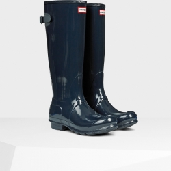 20140820091733ORG_NVY_AW14_WFT1001RGL_product women's original adjustable gloss wellington boots navy