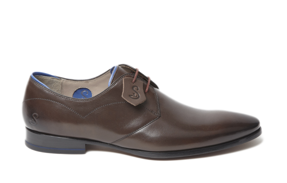 Morsang Brown Lace-up Derby