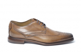 Sini Brown Lace-up Derby Brogue