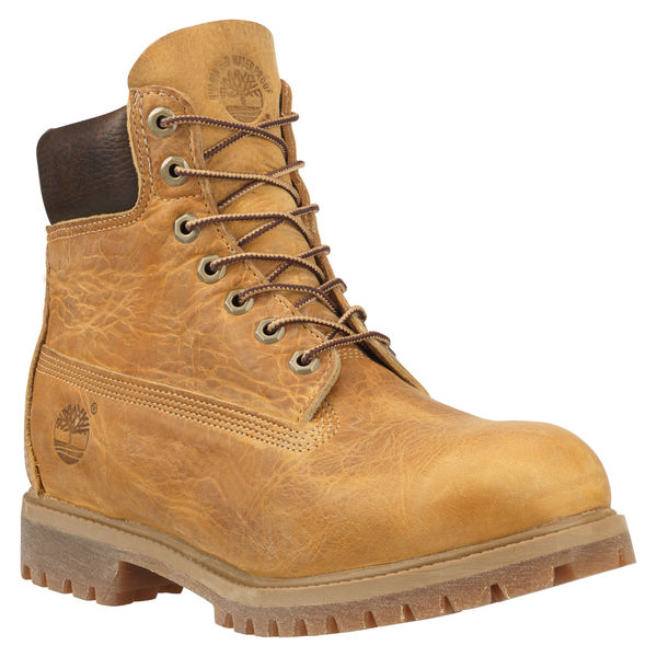 Men's Heritage Classic 6 Inch Boot WHEAT BURNISHED FULL GRAIN