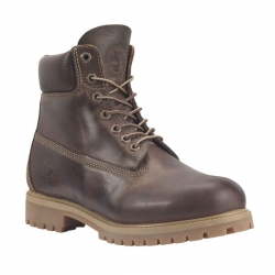 Men's Heritage Classic 6 Inch Boot BROWN BURNISHED FULL GRAIN