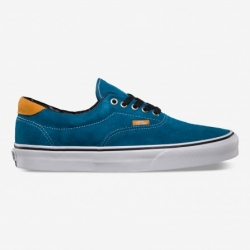 VUC6DHY ERA 59 SHOES (Earthtone Suede) Moroccan Blue
