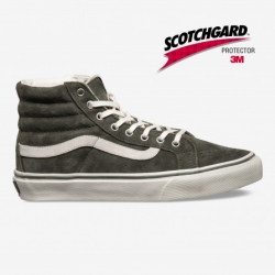 VXH7DO1 Sk8-Hi Slim (scotchgard) beetle-marshmallow