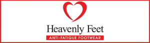 heavenly feet logo